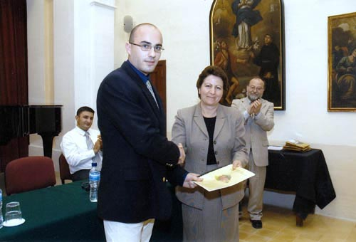 Photo with Hon. Minister for Gozo