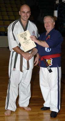 photo with Grandmaster Bowman